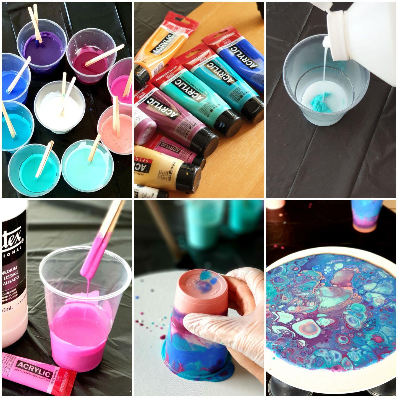 DIY Acrylique Pouring