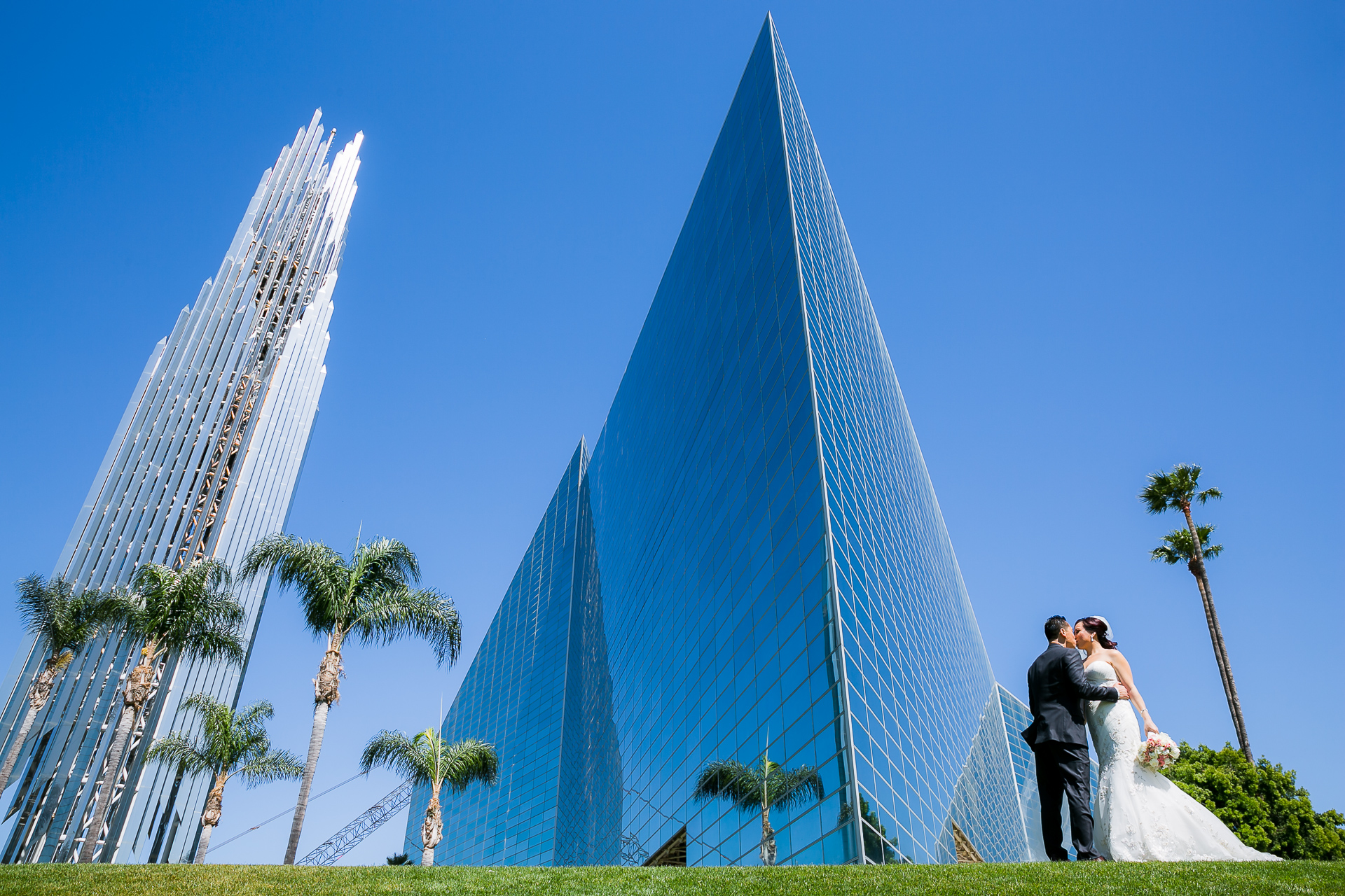 christ cathedral wedding michelle