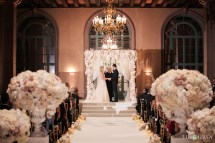 Millennium Biltmore Hotel Los Angeles Wedding Kristina