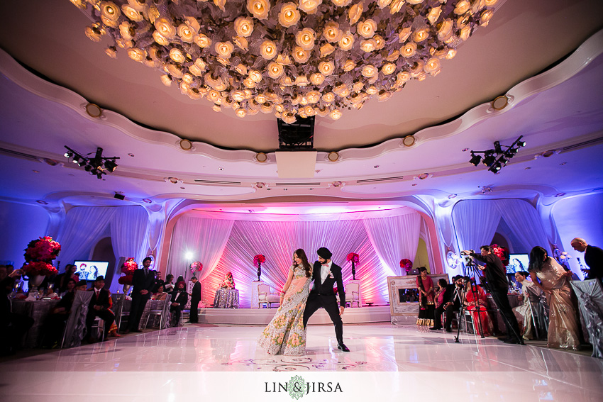 Beverly Hills Hotel Wedding Reception Devkarn Amp Parveena