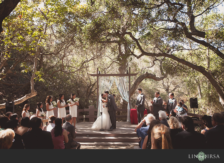 Oak Canyon Nature Center Anaheim Wedding  Nathan and Linh