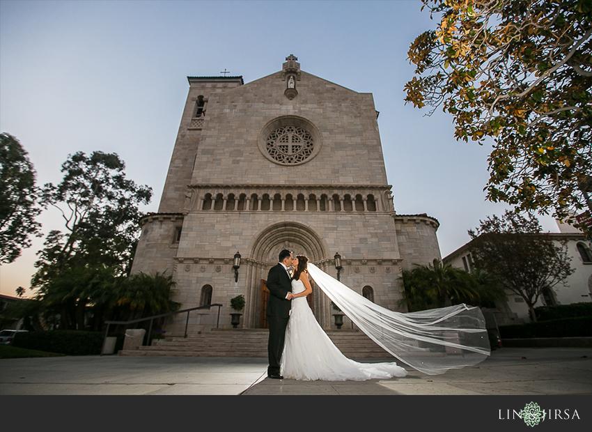 St Monica Catholic Church Wedding  Warren and Sylvia