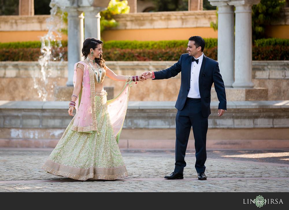 RitzCarlton Hotel Wedding Reception  Kunal and Shivani
