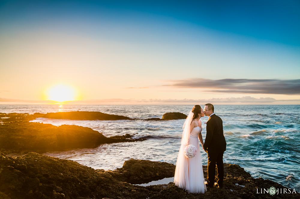 Montage Laguna Beach Wedding  Maria  Mike