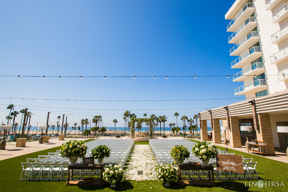 Pasea Hotel Huntington Beach Wedding  Ramya  Asim