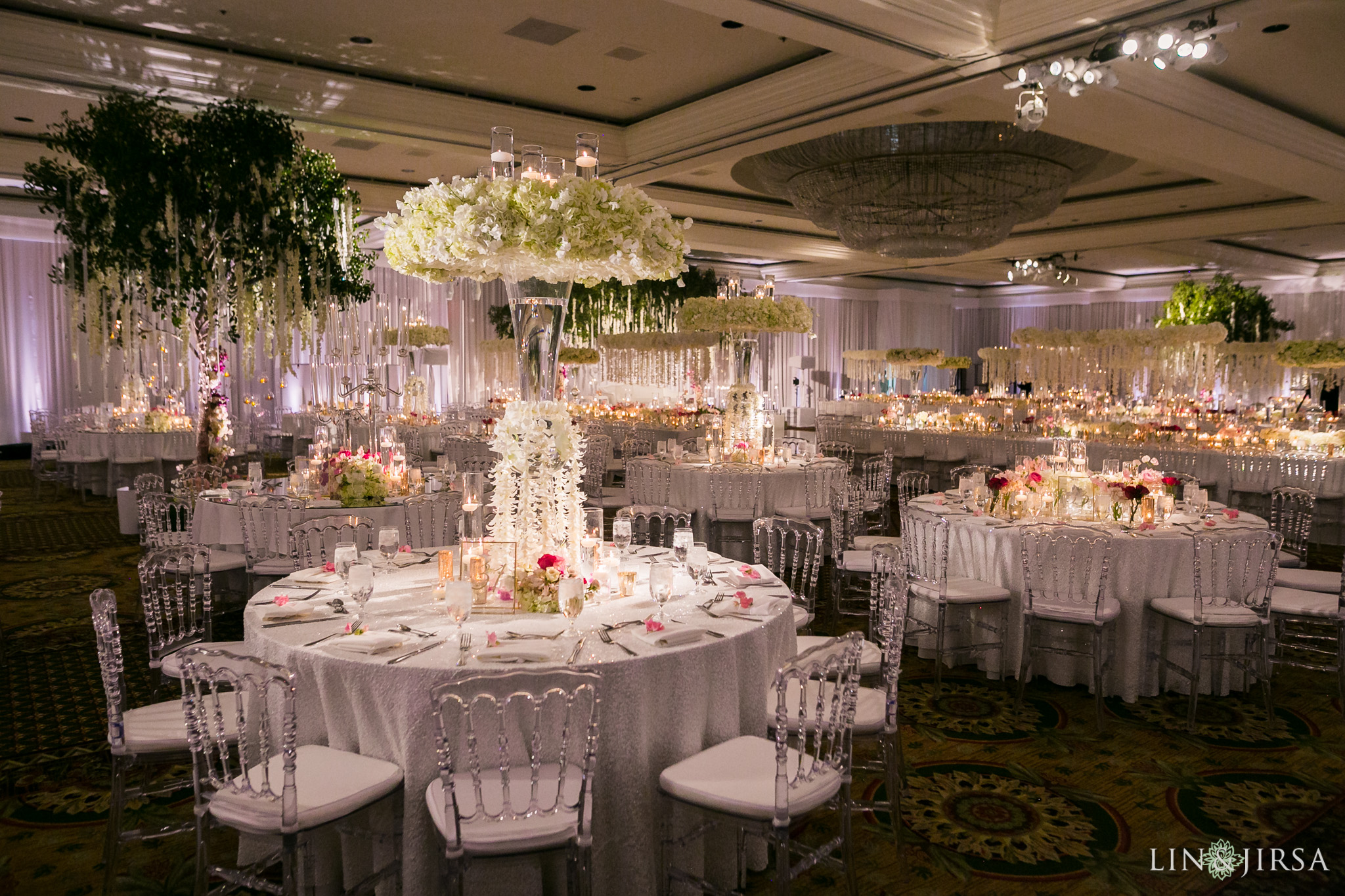 Duke Hotel Newport Beach Indian Wedding Reception  Diviya  Sumit