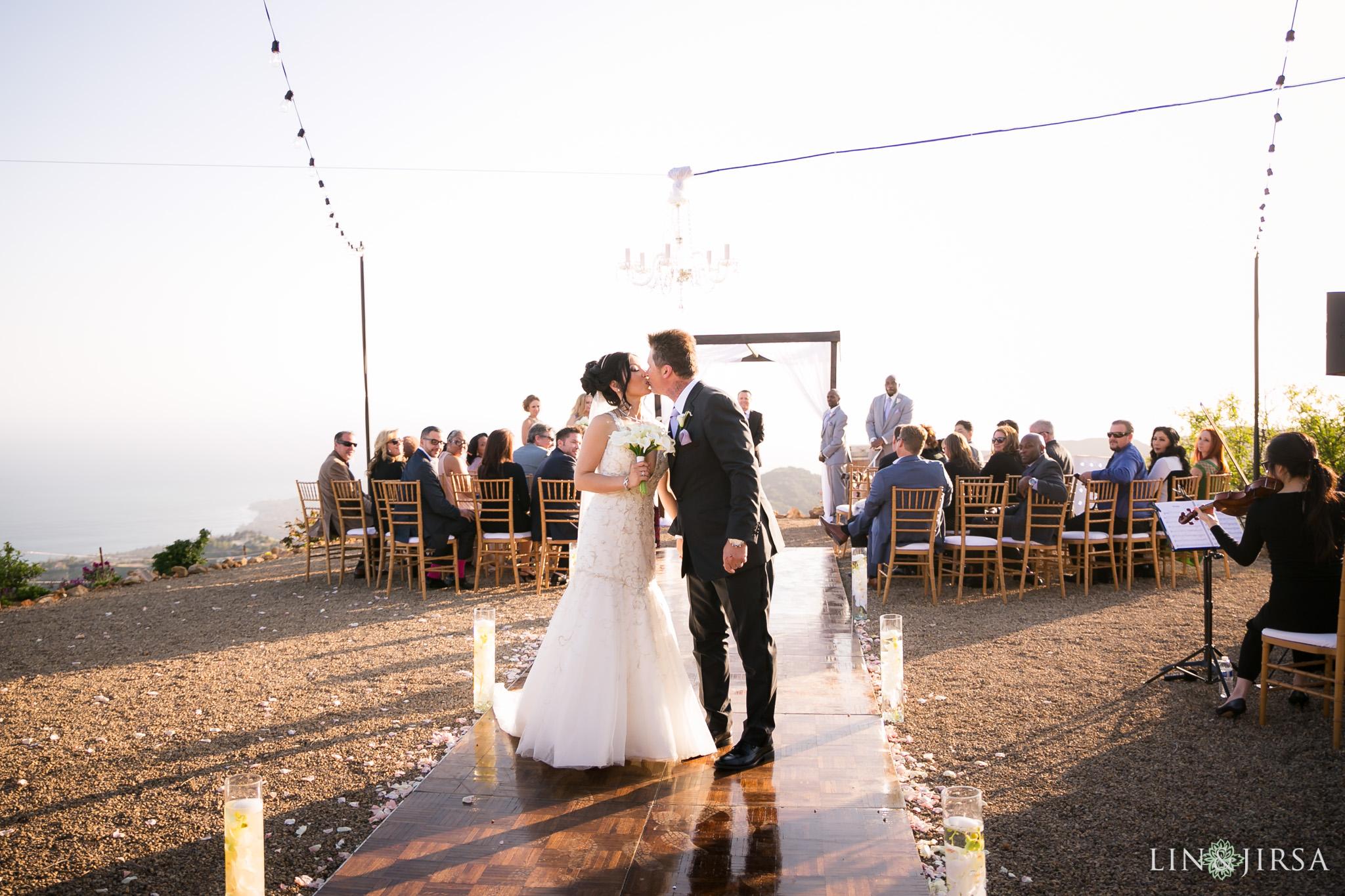 Malibu Solstice Vineyards Wedding  Sylvia  Casey