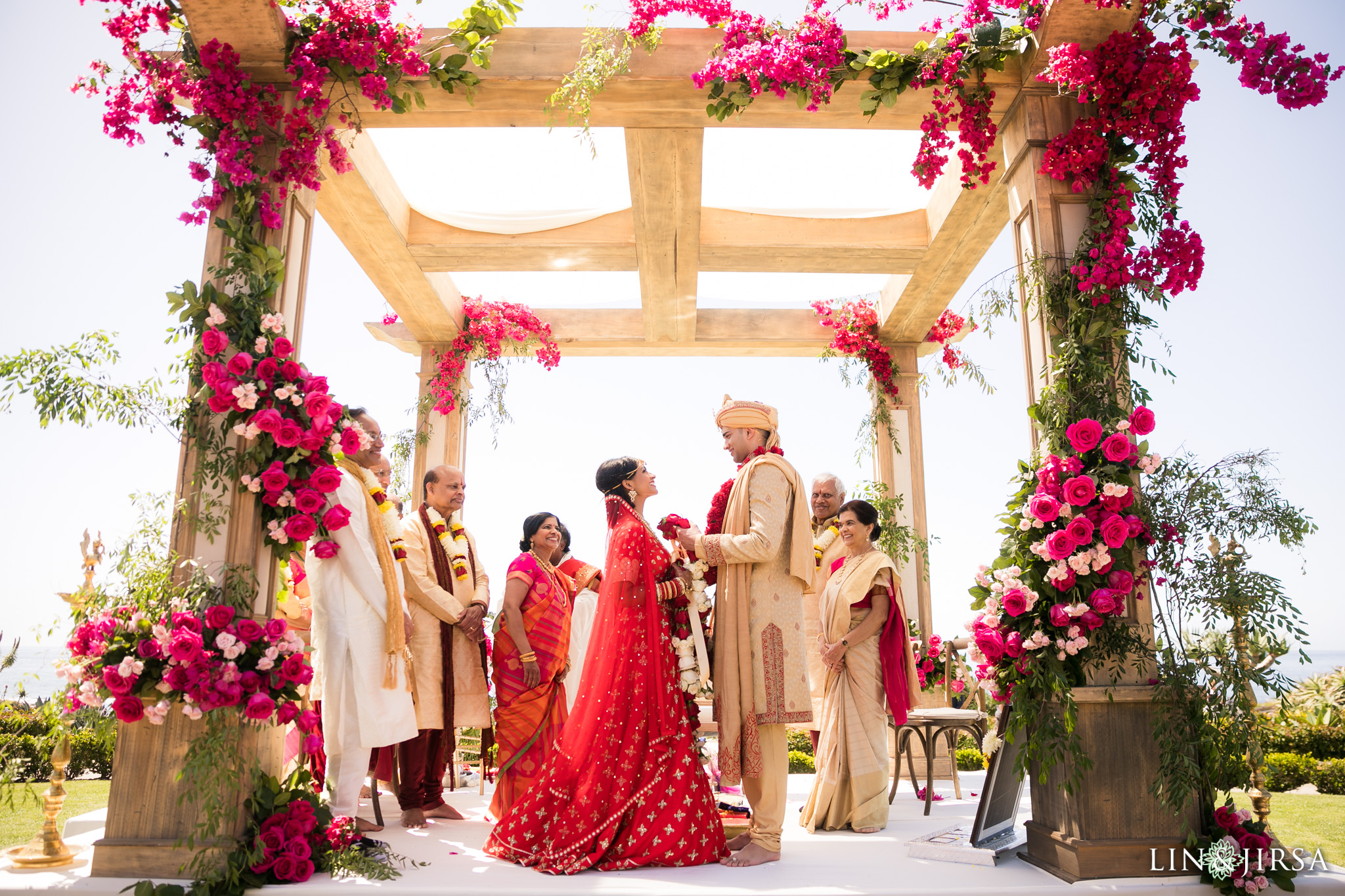 Montage Laguna Beach Indian Wedding  Sravya  Subir