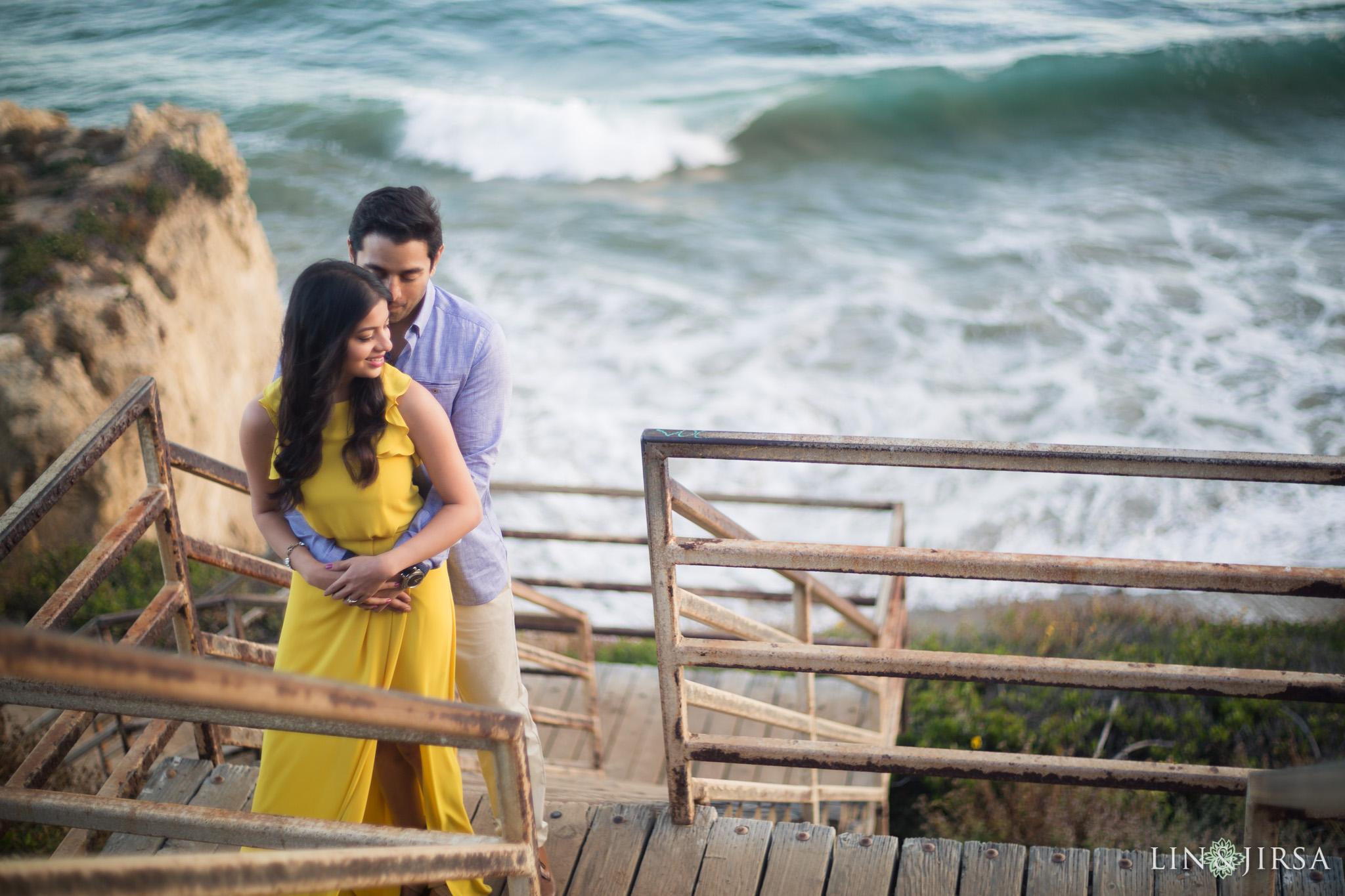 El Matador State Beach Engagement  Ranjita  Vivek