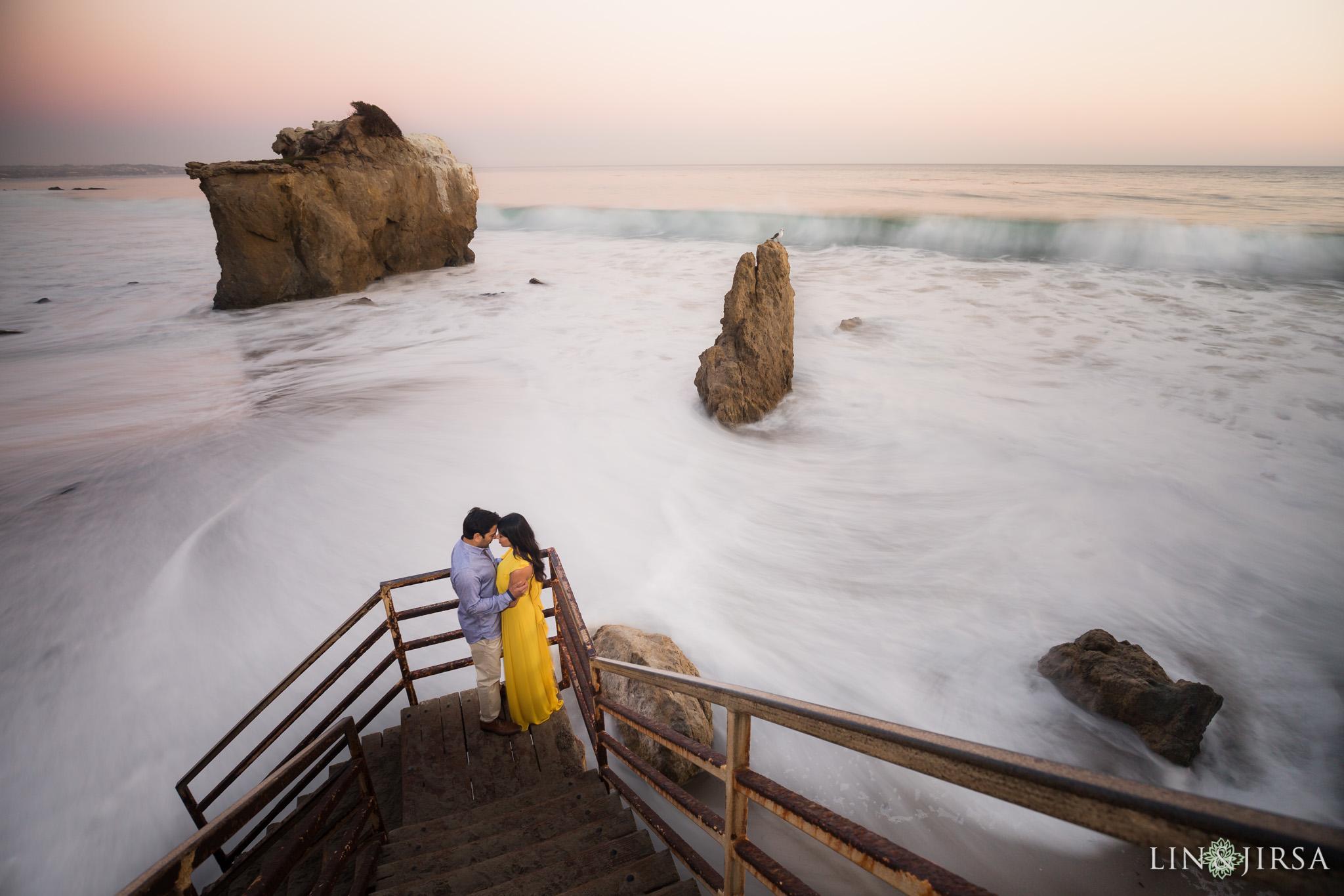 El Matador State Beach Engagement Ranjita Amp Vivek