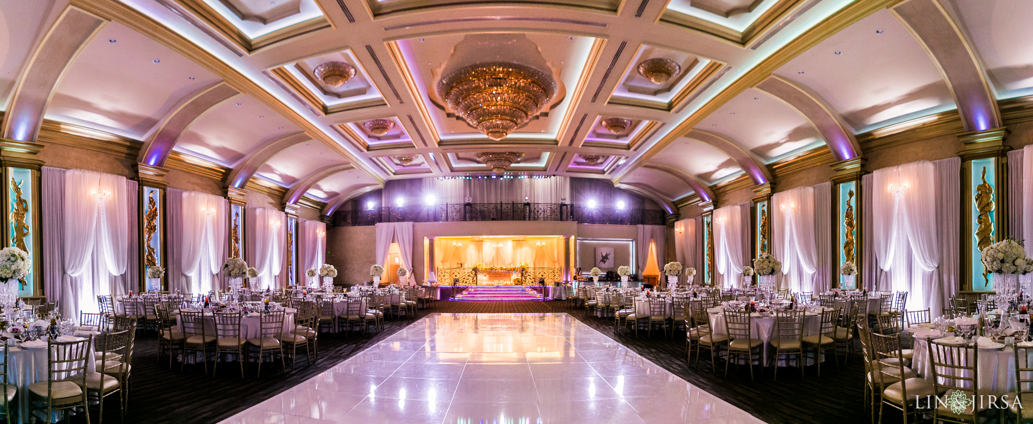 Palladio Banquet Hall Glendale Wedding  Marina  Raef