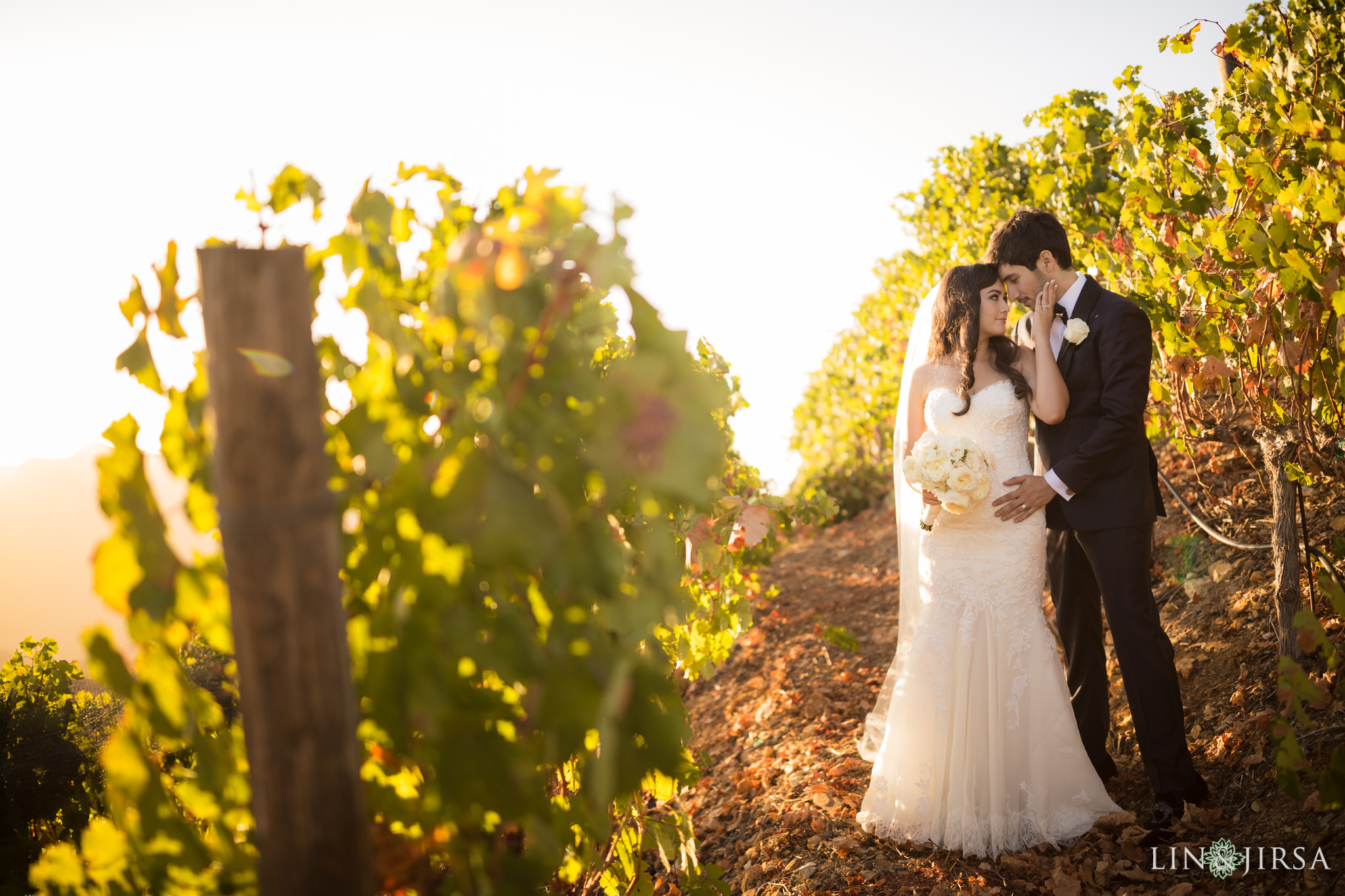 Malibu Rocky Oaks Estate Vineyard Wedding  Katie  Jesse
