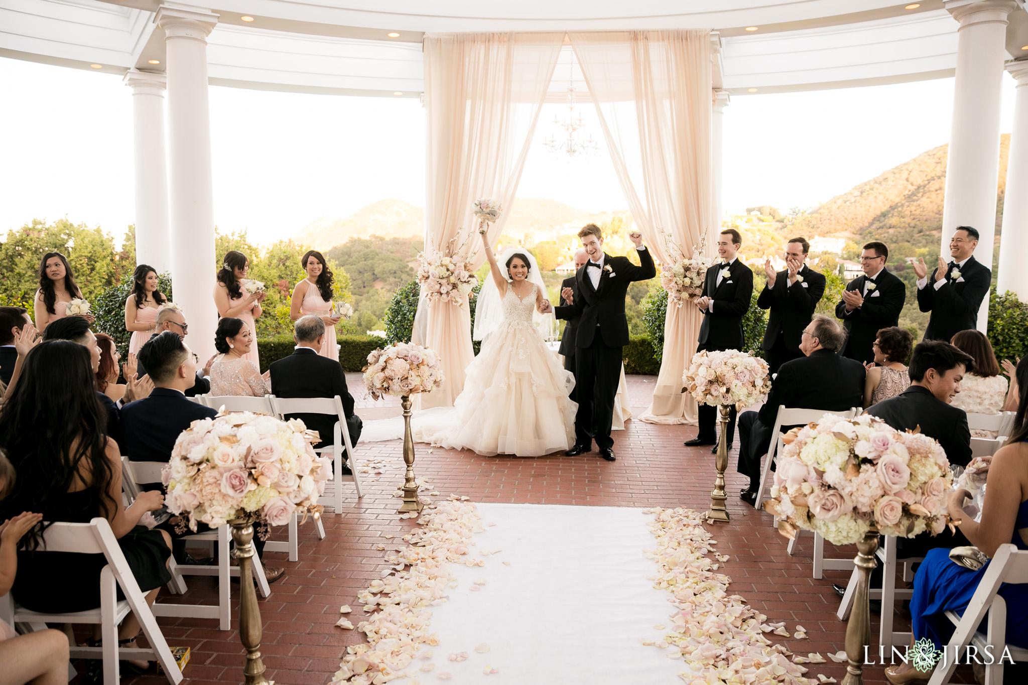 Sherwood Country Club Thousand Oaks Wedding  Samantha  James