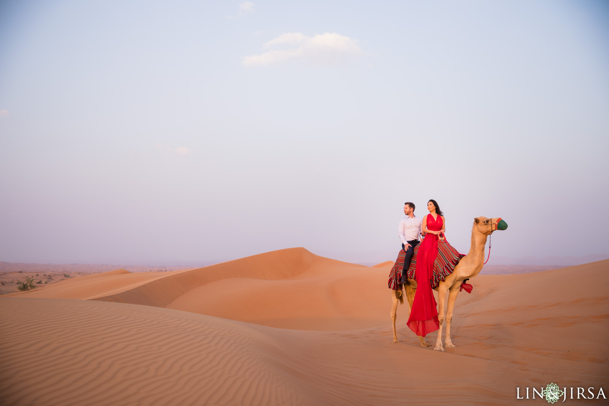 Dubai Sand Desert  Grand Mosque PostWedding Session  Ayana  Matthew