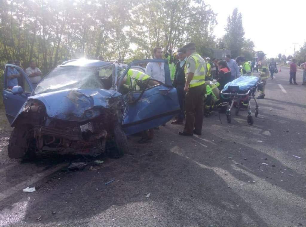 a1b3b18dc0 Un agricultor pierde la vida en violenta colisión frontal en el sector de  Peñuelas, comuna de Yerbas Buenas
