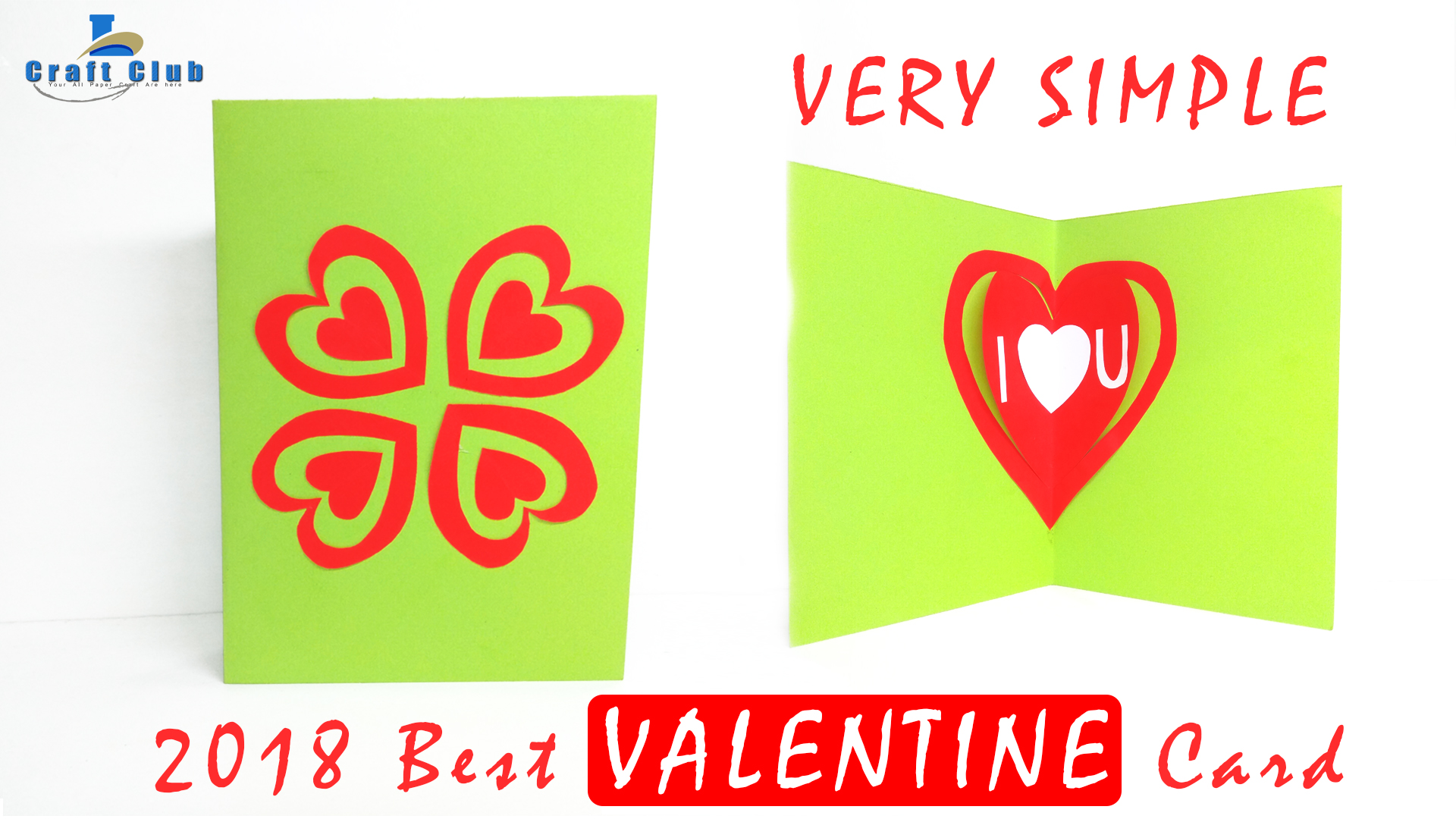 Happy Valentine Card Pop Up Heart Card Tutorial Handmade