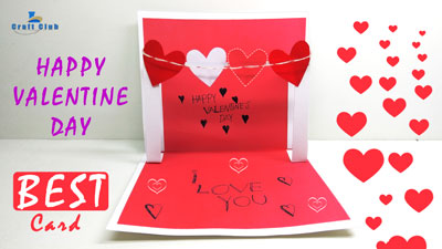 How-to-Make-a-Cute-Homemade-Pop-Up-Valentine's-Card-(VERY-EASY-to-Make)---Lina's-Craft-Club