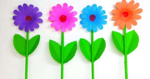 Diy Paper Flowers Easy Archives Linas Craft Club