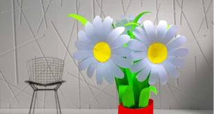 Daisy Paper Flower Tutorial 2019