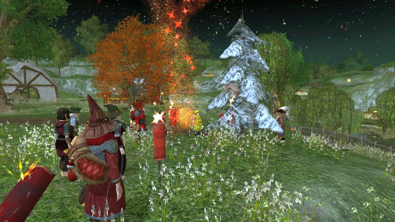 Songburrow Yule Tree Raising @ Songburrow