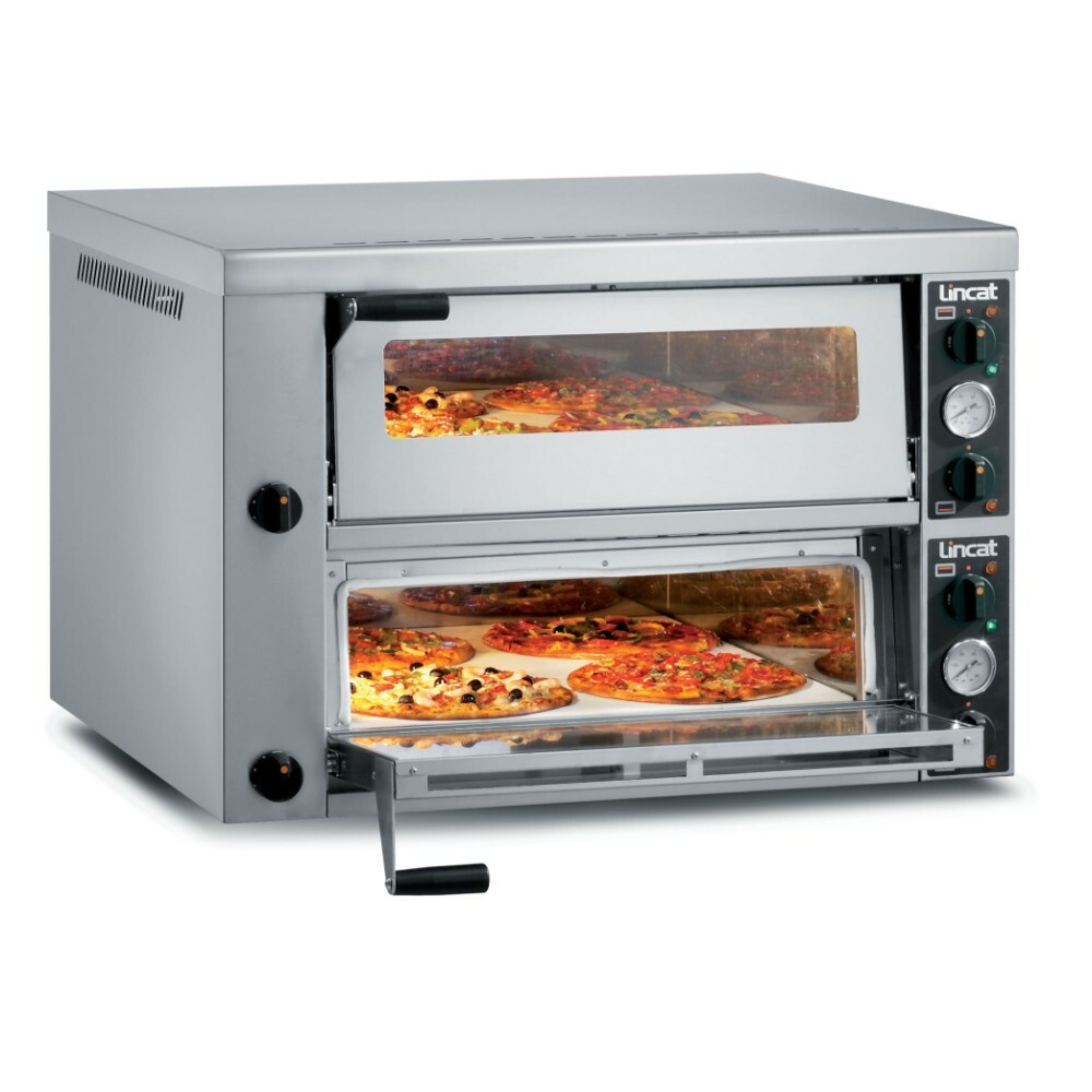 hight resolution of po430 2 lincat electric counter top pizza oven twin deck w 966 mm 8 4 kw