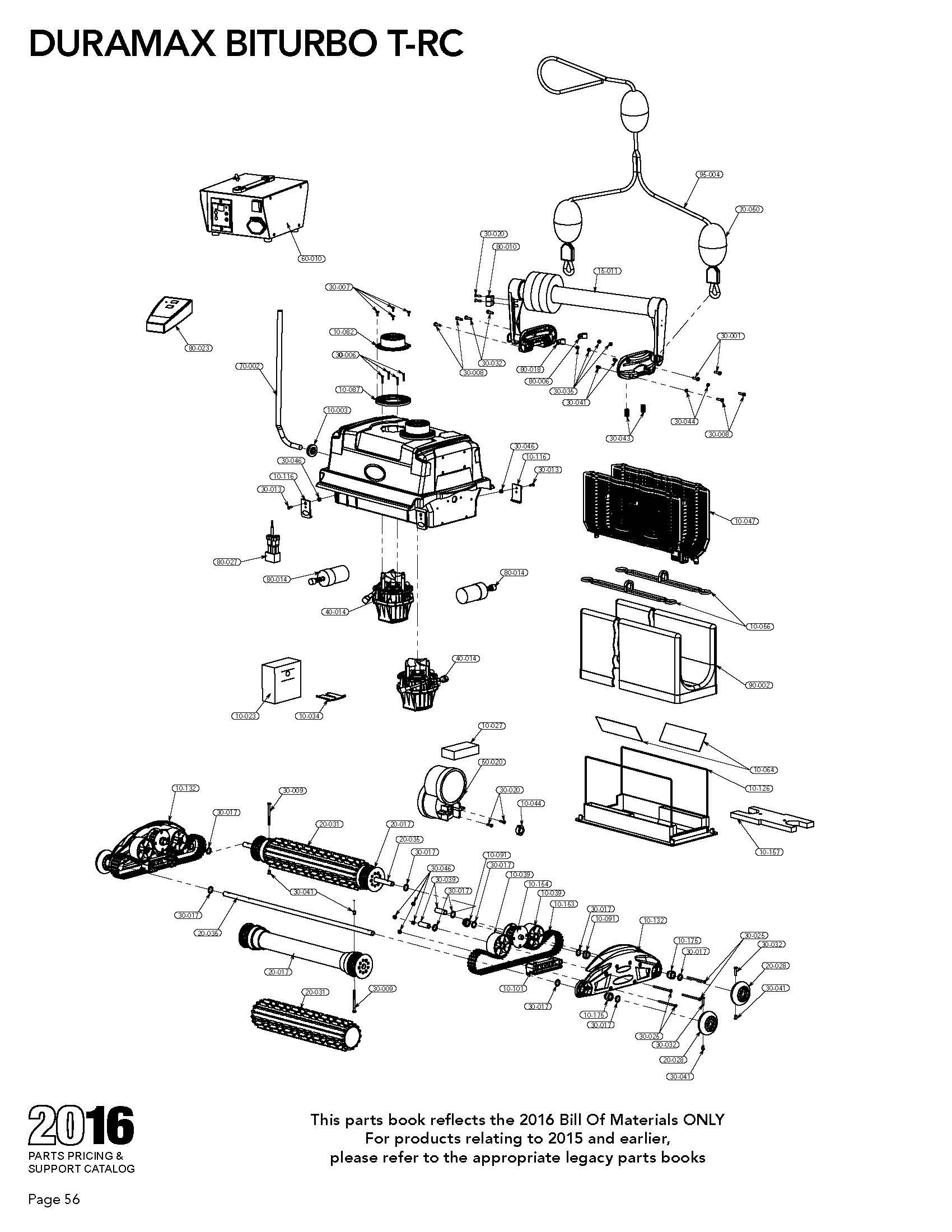 Duramax Biturbo T Rc Parts Diagram Amp Parts List