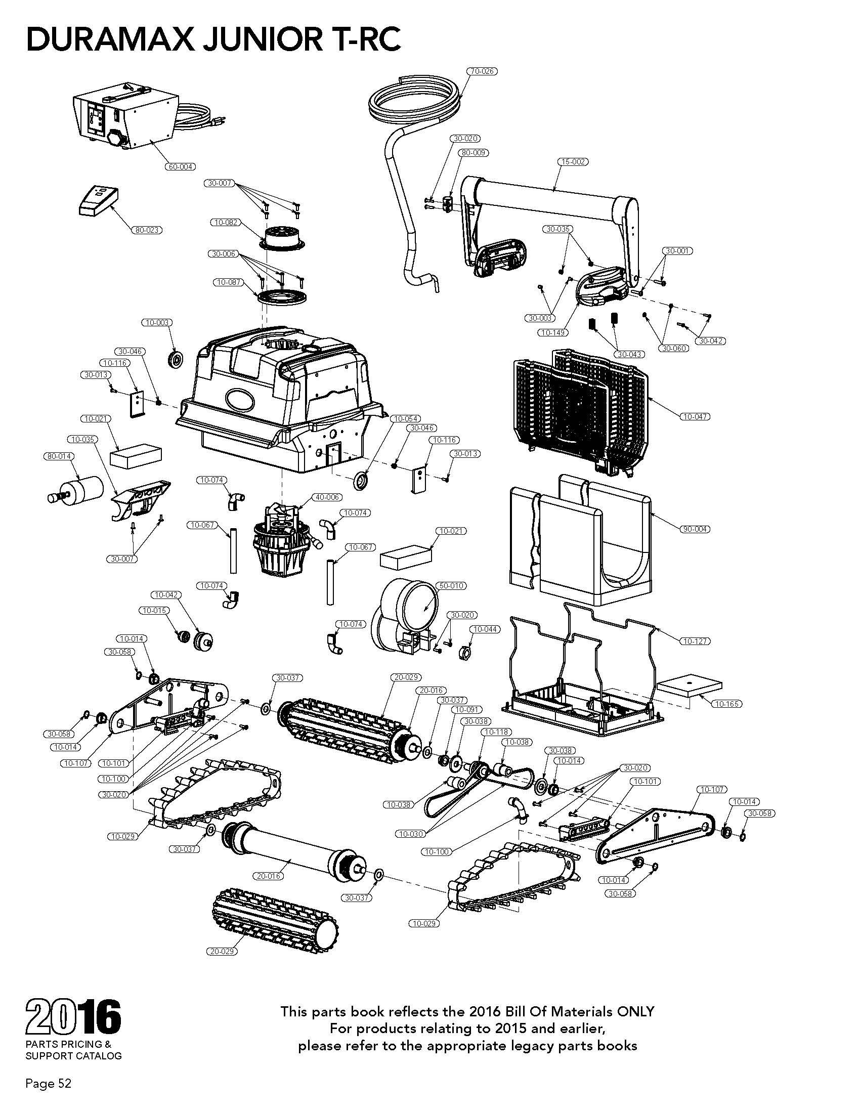 Duramax Jr T Rc Parts Diagram Amp Parts List