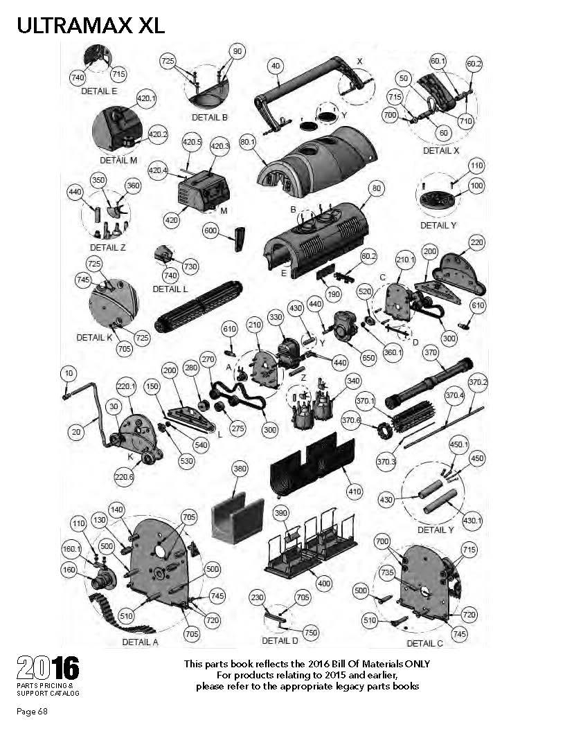 Exhaust System Parts Diagram
