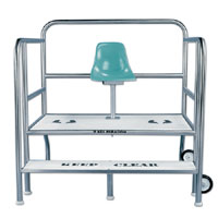 paragon lifeguard chairs plus size guard and accessories lincoln aquatics item