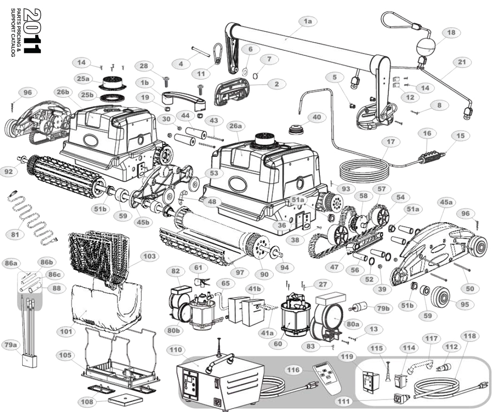 DuraMAX Duo Parts Diagram and Parts List 2013 & Before