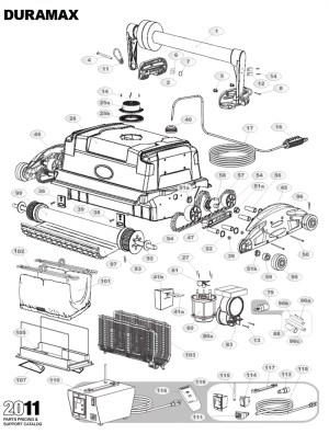 DuraMAX Parts Diagram and Parts List 2013 & Before
