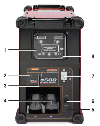 Power Wave 174 S500 Advanced Process Welder With Power Feed