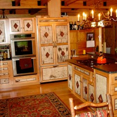Western Kitchen Decor Cabinet Design Floorplan Series The Original Lincoln Logs