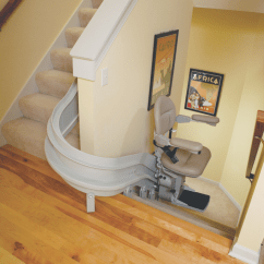 Folding Kentucky Chair Svan High Stair Lifts | Lincoln Mobility