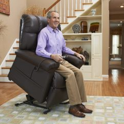 Sit To Stand Chair Lift Outdoor Chaise Lounge With Ottoman Recliners Lincoln Mobility Made Easy