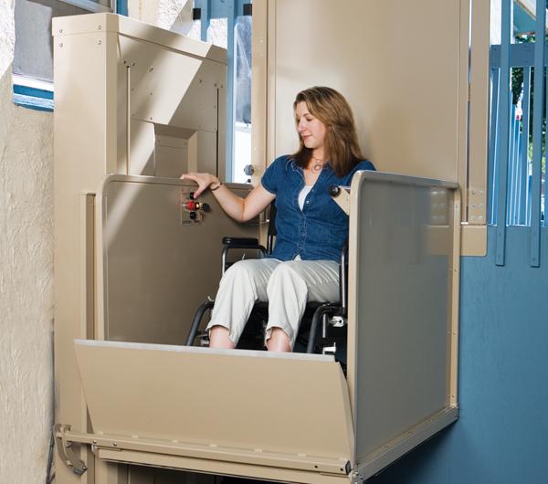 Vertical Platform Lifts  Lincoln Mobility