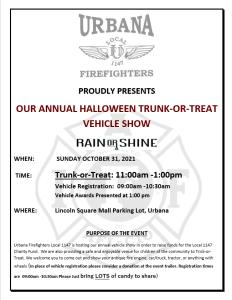 Car Show & Halloween Trunk-or-Treat