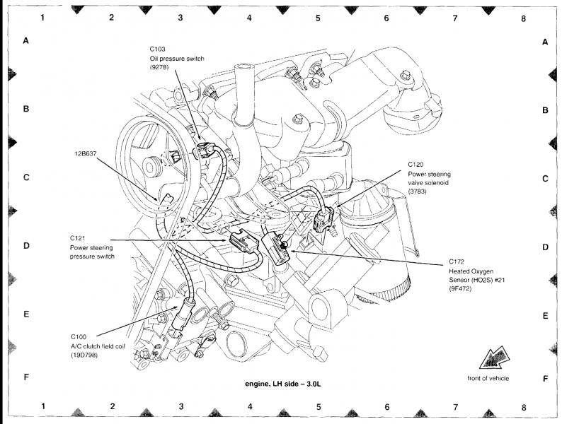 Lincoln Ls Power Steering Diagram. Lincoln. Auto Parts