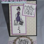 B1608 Better w a Friend Easel Card