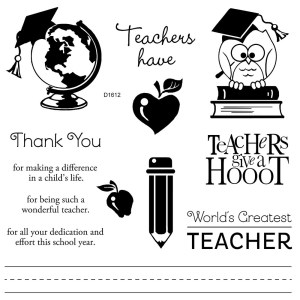 Teacher Appreciation Stamp Set