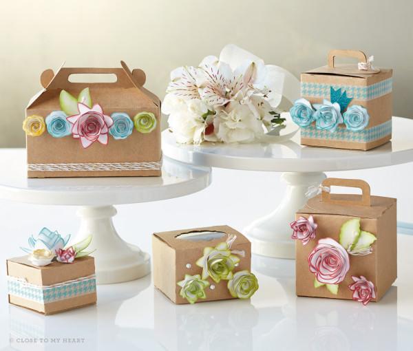 Gift Boxes Cricut Artiste By CTMH Linda Creates ~ Linda Caler www.lindacreates.com