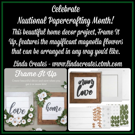 Frame It Up Linda Creates www.lindacreates.ctmh.com #linda_creates #papercrafting