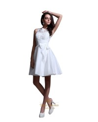 Elegant Short Wedding Dresses - High Cut Wedding Dresses