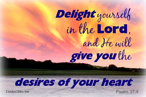 God Aches to be Your Delight