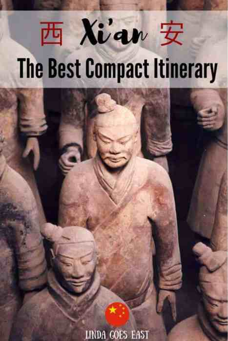 The Compact Xi'an Itinerary | Linda Goes East