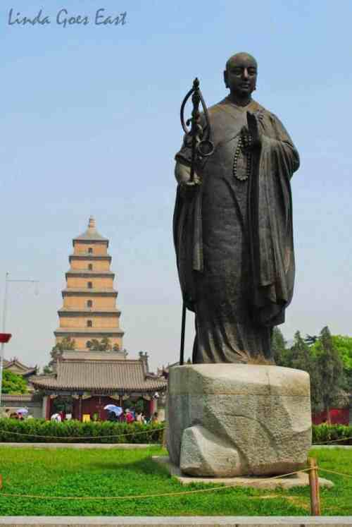 Big Goose Pagoda Xi'an Linda Goes East