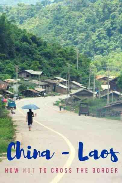 China Laos Border Crossing | Linda Goes Eeast