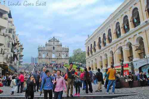 Macau St. Paul's Ruins | Linda Goes East