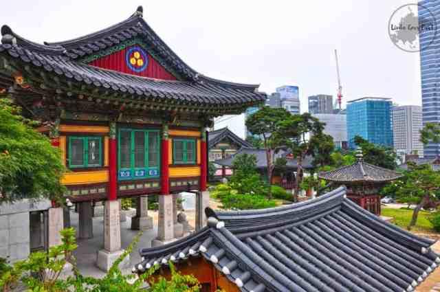Bongeunsa Temple   Linda Goes East