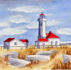 Pt. Wilson Lighthouse (Pt. Townsend, WA)